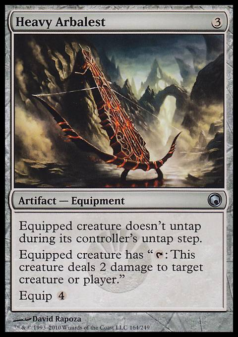 Heavy Arbalest, Scars of Mirrodin