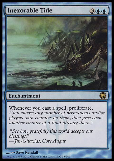 Inexorable Tide, Scars of Mirrodin