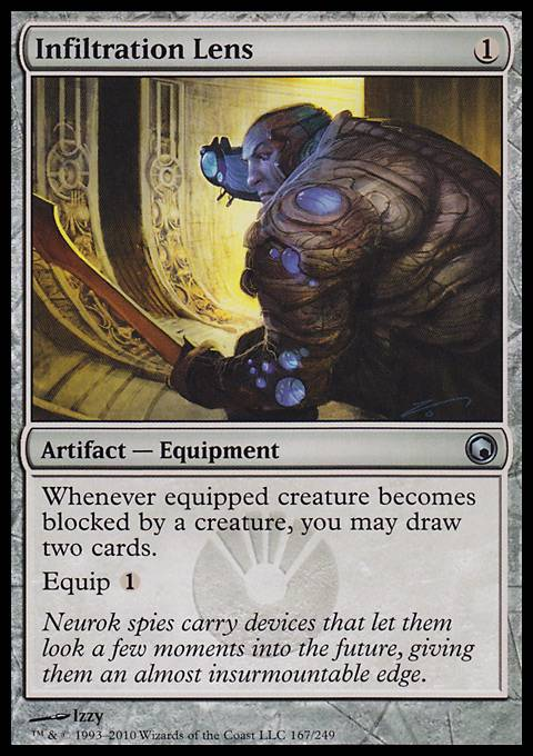 Infiltration Lens, Scars of Mirrodin