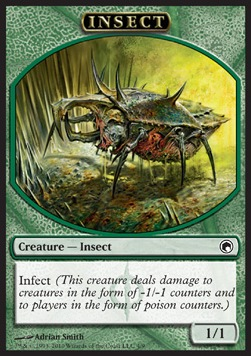 Insect token, Scars of Mirrodin