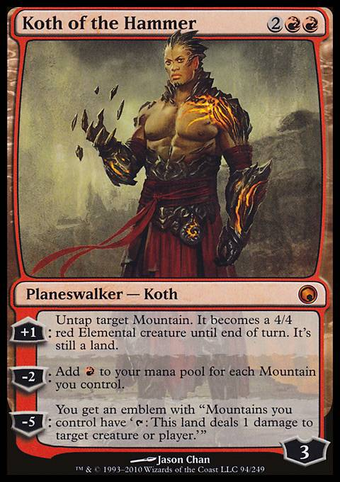 Koth of the Hammer, Scars of Mirrodin