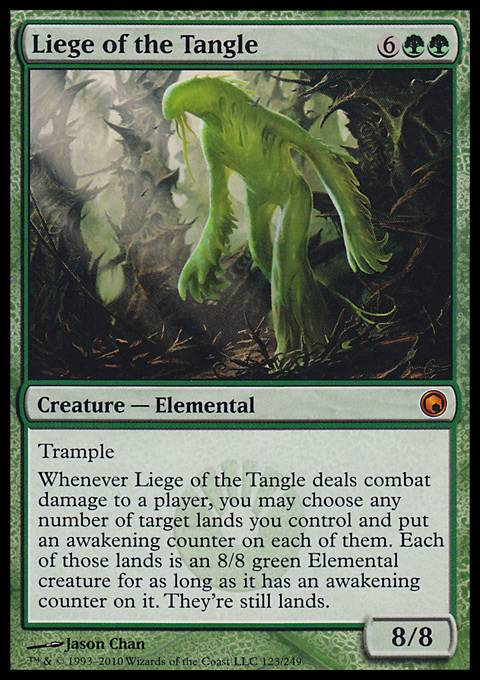 Liege of the Tangle, Scars of Mirrodin
