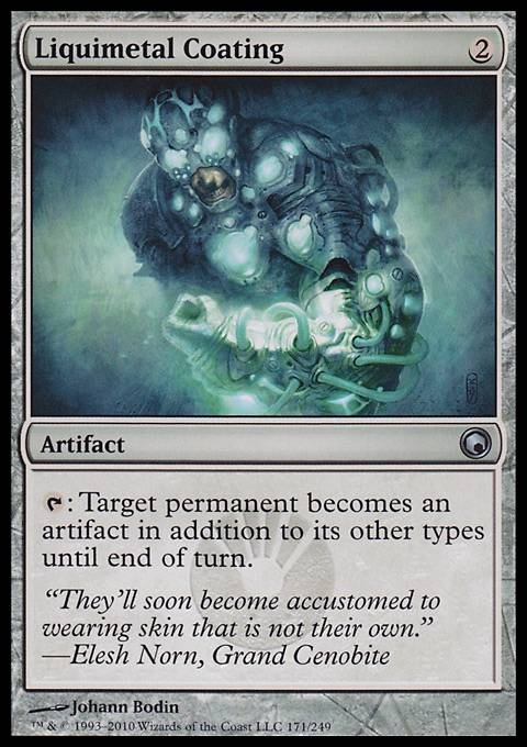 Liquimetal Coating, Scars of Mirrodin