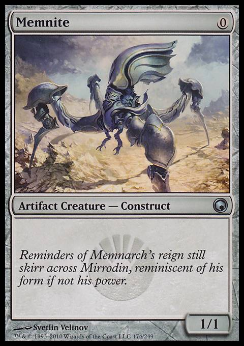 Memnite, Scars of Mirrodin