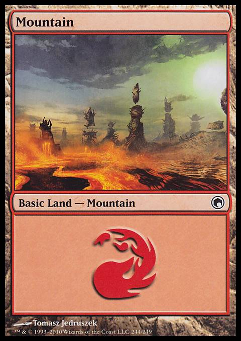 Mountain, Scars of Mirrodin