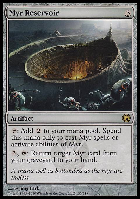 Myr Reservoir, Scars of Mirrodin