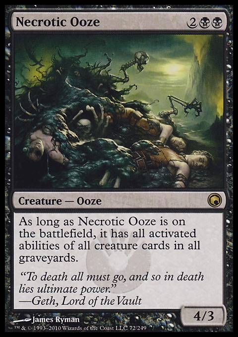 Necrotic Ooze, Scars of Mirrodin