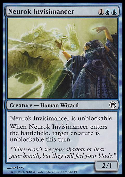 Neurok Invisimancer, Scars of Mirrodin