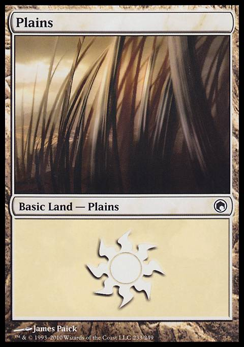 Plains, Scars of Mirrodin