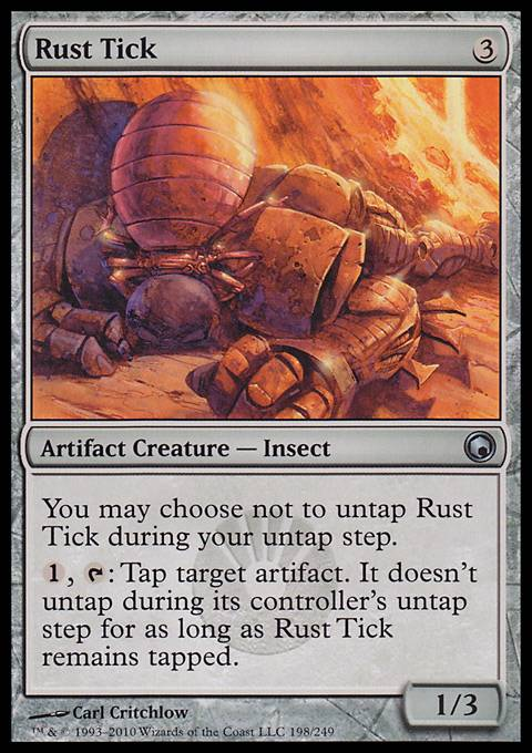 Rust Tick, Scars of Mirrodin