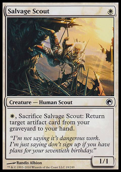 Salvage Scout, Scars of Mirrodin