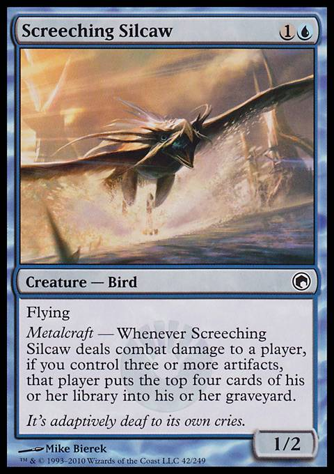 Screeching Silcaw, Scars of Mirrodin