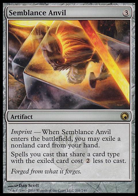 Semblance Anvil, Scars of Mirrodin