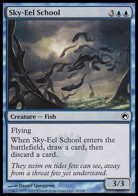 Sky-Eel School, Scars of Mirrodin