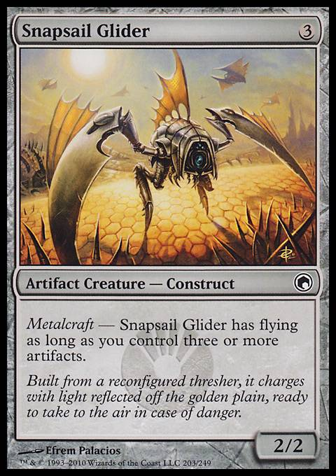 Snapsail Glider, Scars of Mirrodin