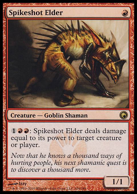 Spikeshot Elder, Scars of Mirrodin
