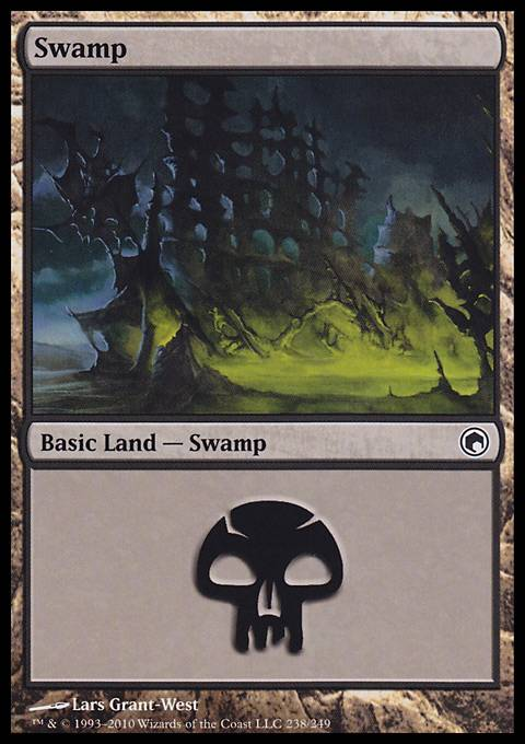 Swamp, Scars of Mirrodin