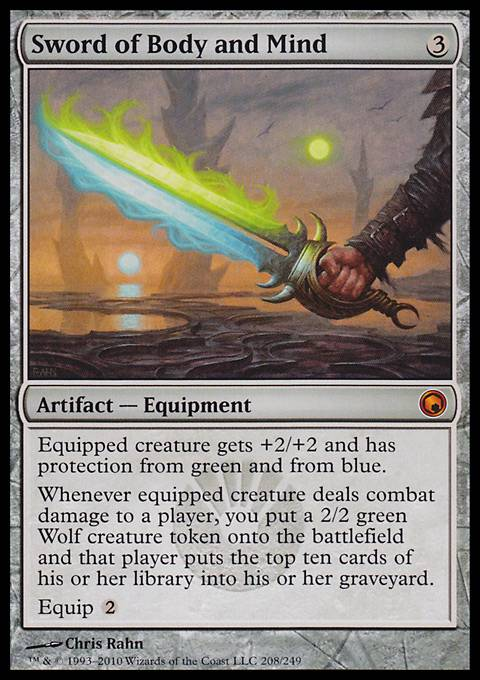 Sword of Body and Mind, Scars of Mirrodin