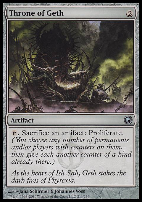 Throne of Geth, Scars of Mirrodin