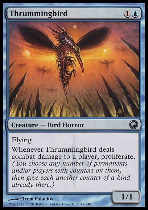 Thrummingbird, Scars of Mirrodin