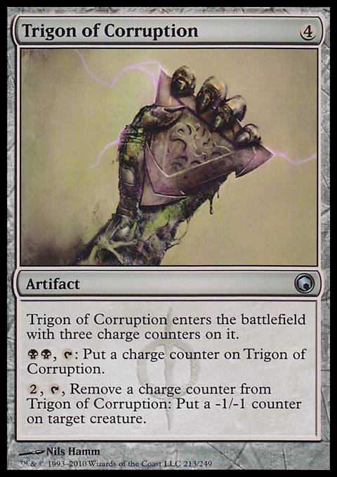 Trigon of Corruption, Scars of Mirrodin