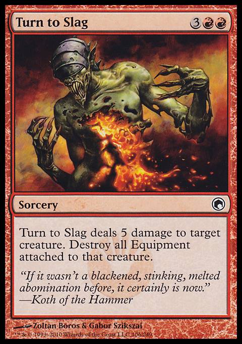 Turn to Slag, Scars of Mirrodin