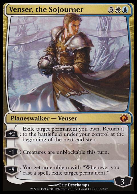 Venser, the Sojourner, Scars of Mirrodin