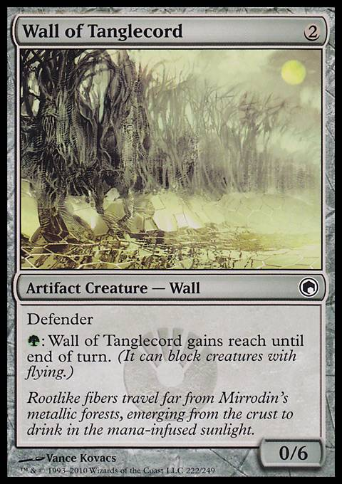 Wall of Tanglecord, Scars of Mirrodin