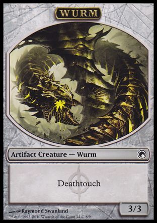 Wurm token, Scars of Mirrodin