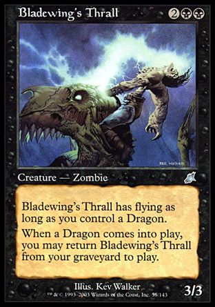 Bladewing's Thrall, Scourge