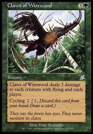 Claws of Wirewood, Scourge