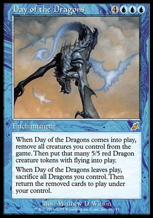 Day of the Dragons, Scourge