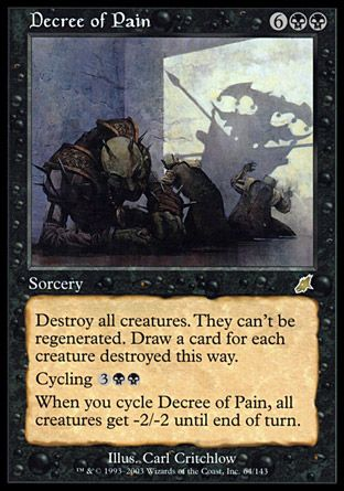 Decree of Pain, Scourge