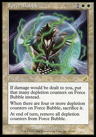 Force Bubble, Scourge
