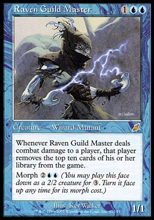 Raven Guild Master, Scourge