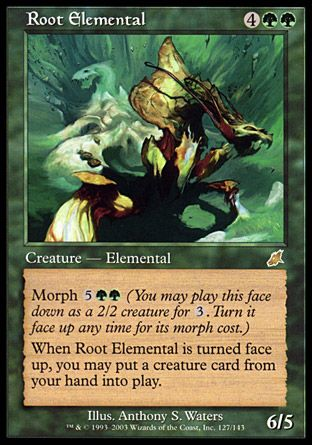 Root Elemental, Scourge