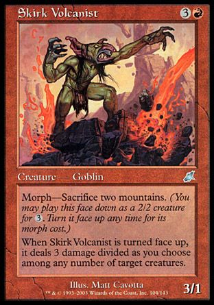Skirk Volcanist, Scourge