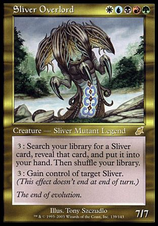 Sliver Overlord, Scourge