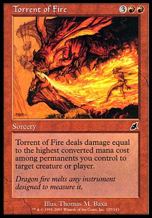 Torrent of Fire, Scourge