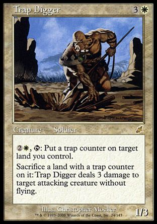 Trap Digger, Scourge