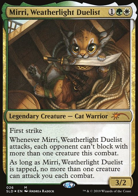 Mirri, Weatherlight Duelist, Secret Lair Drop