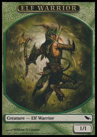 Elf Warrior token, Shadowmoor