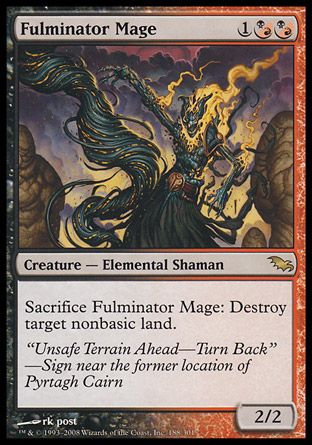 Fulminator Mage, Shadowmoor