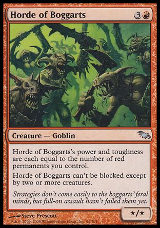 Horde of Boggarts, Shadowmoor