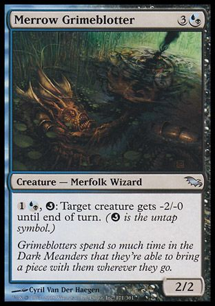 Merrow Grimeblotter, Shadowmoor