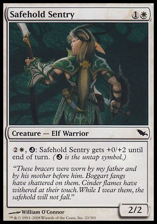 Safehold Sentry, Shadowmoor