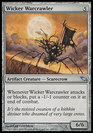 Wicker Warcrawler, Shadowmoor