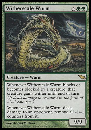 Witherscale Wurm, Shadowmoor