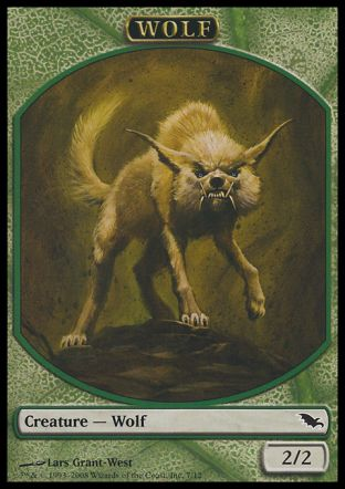 Wolf token, Shadowmoor