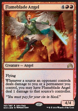Flameblade Angel, Shadows over Innistrad Promos